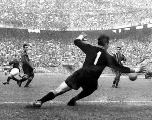 Greaves scores in milan